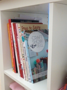 My favourite craft books are up here as well.