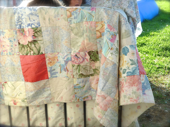 Padded quilt small