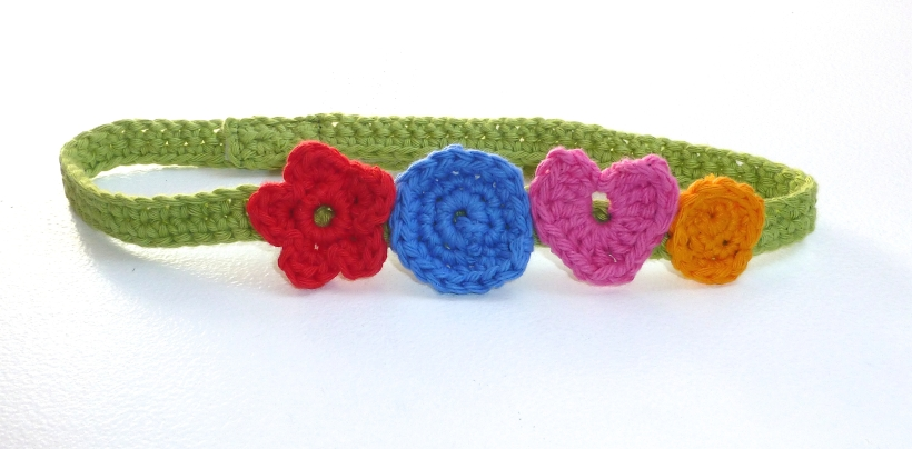 crochet headband - 1