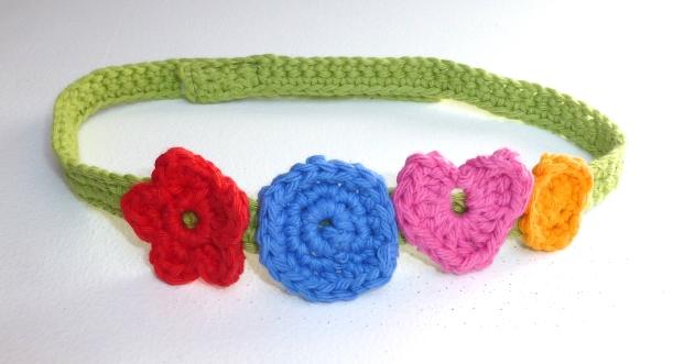 crochet headband - 2