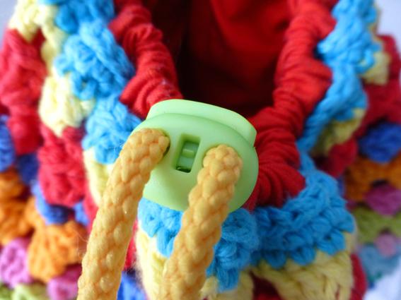 Crochet rucksack bag - 06