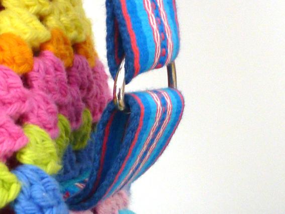 Crochet rucksack bag - 08