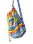 Crochet rucksack bag - 10