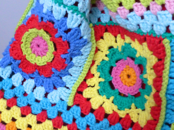 Crochet rucksack bag - 14