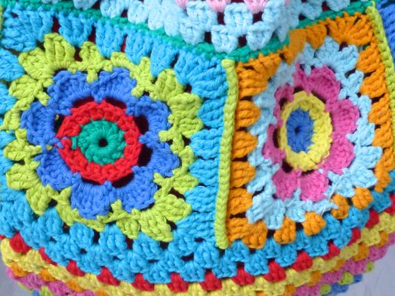 Crochet rucksack bag - 15