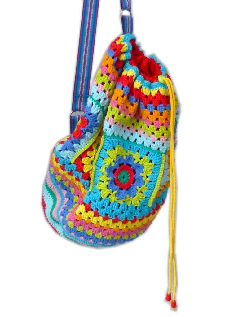Crochet rucksack bag - 18