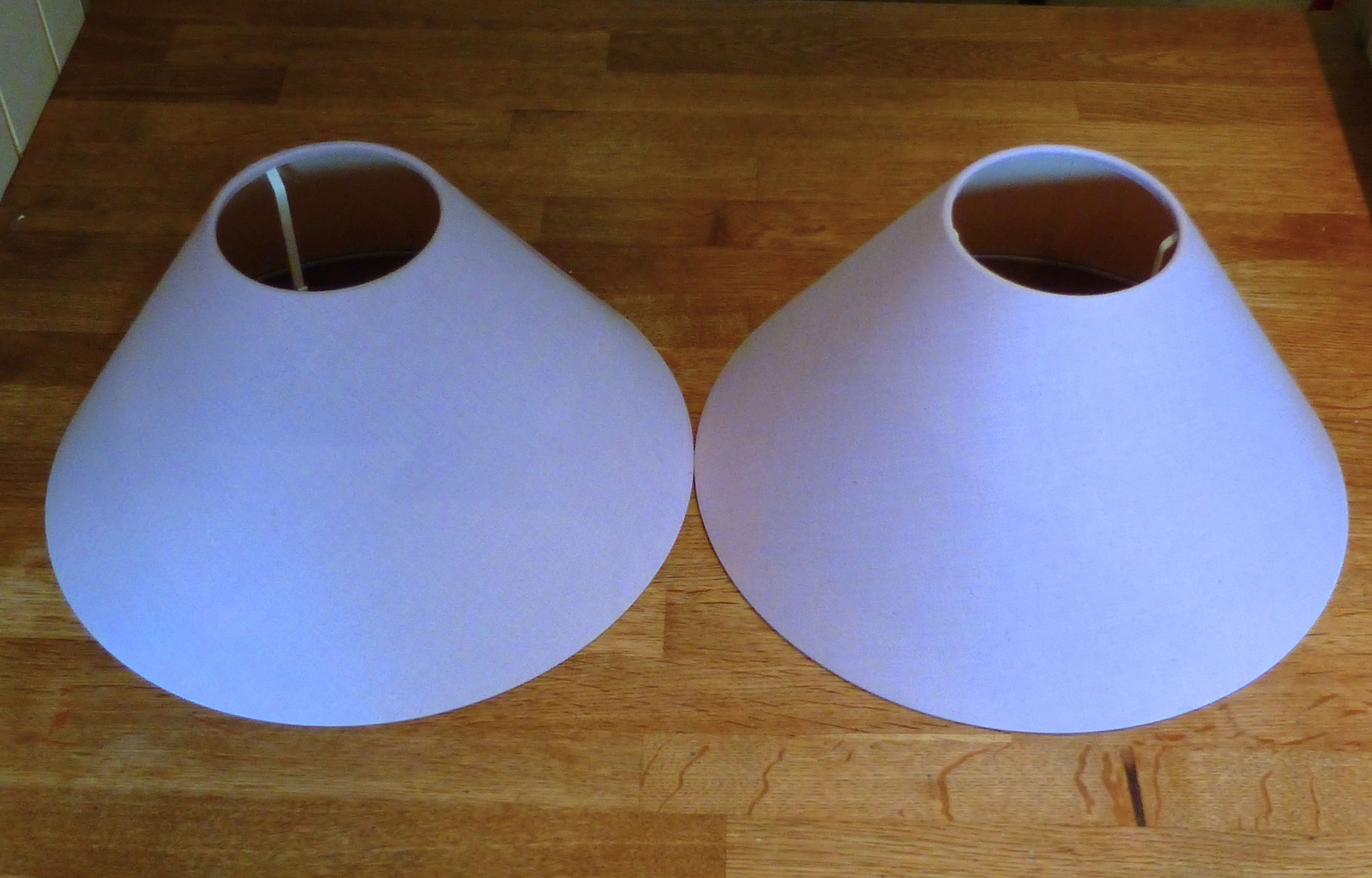 Tutorial How To Cover A Lampshade And Use Chalk Paint To Upcycle