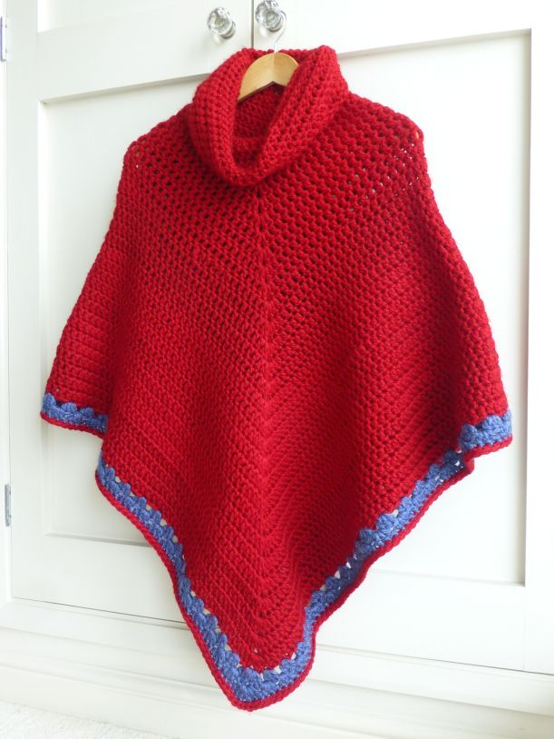 crochet poncho2