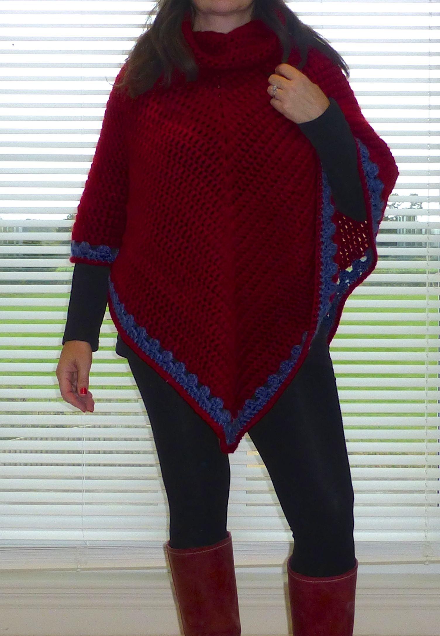 Tutorial: Crochet Poncho