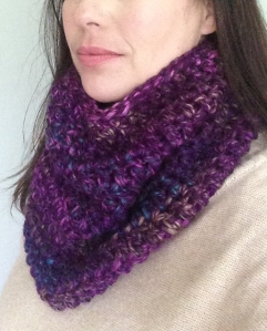 purple cowl