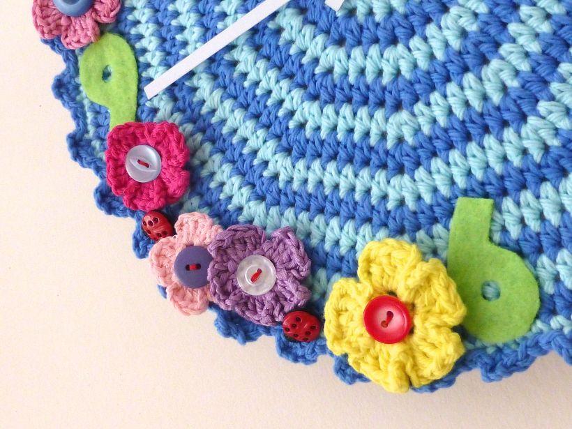 crochet clock2