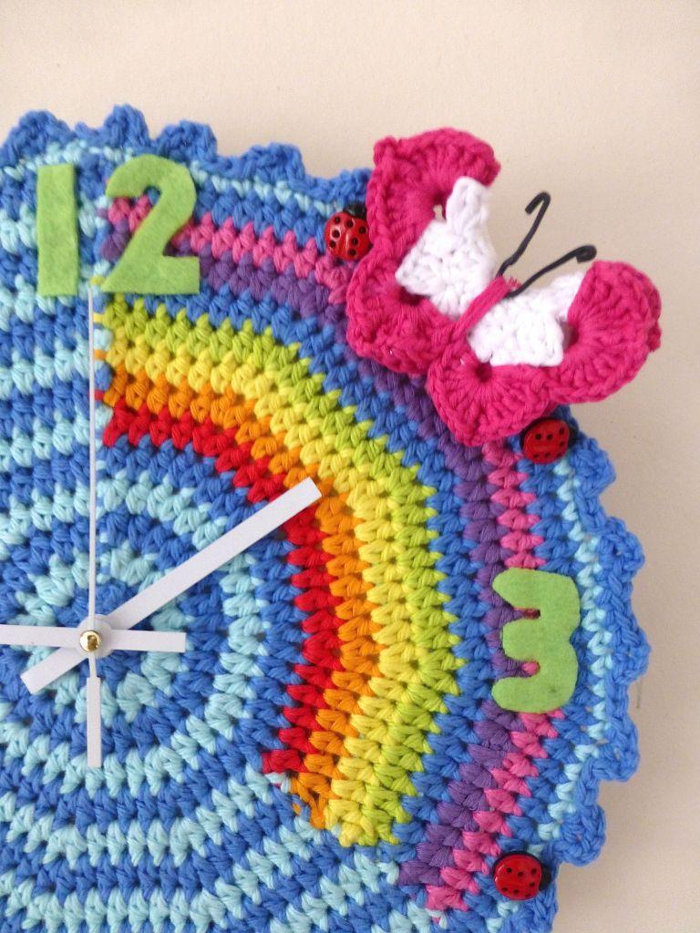 crochet clock6