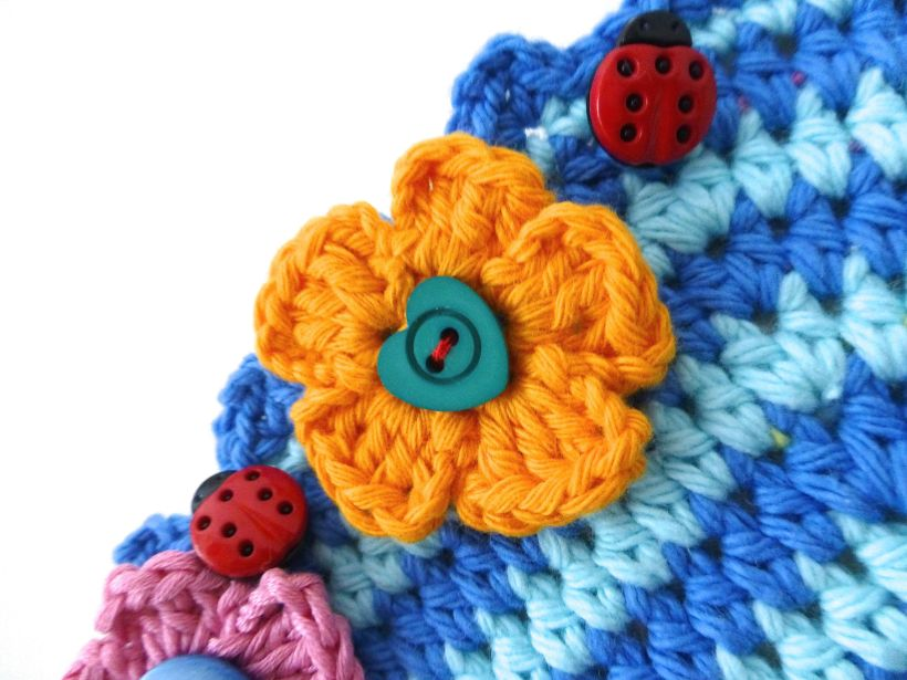 crochet clock8
