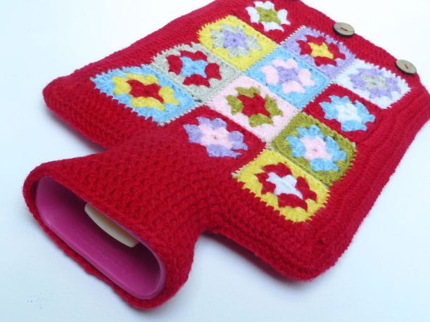 Crochet hot water bottle2
