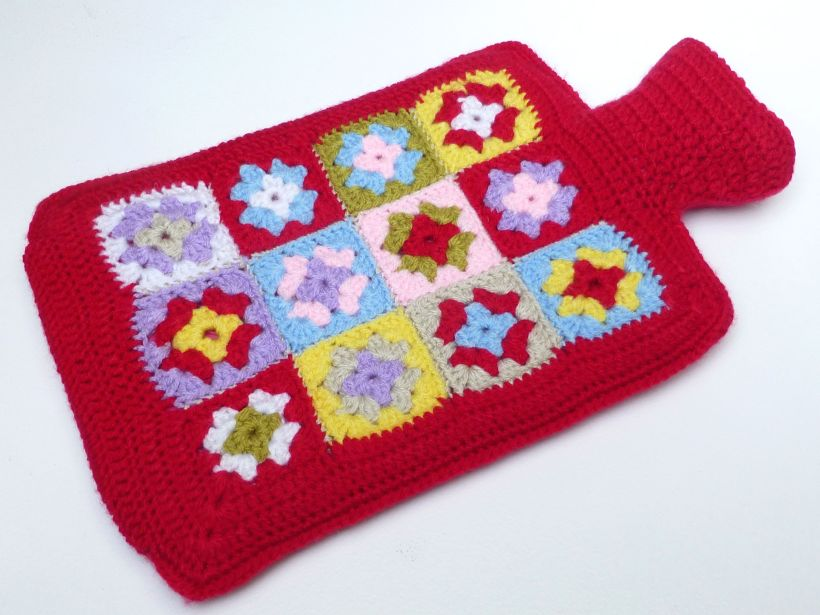 Crochet hot water bottle3