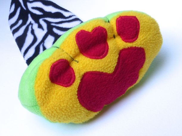 Dog beanbag leg
