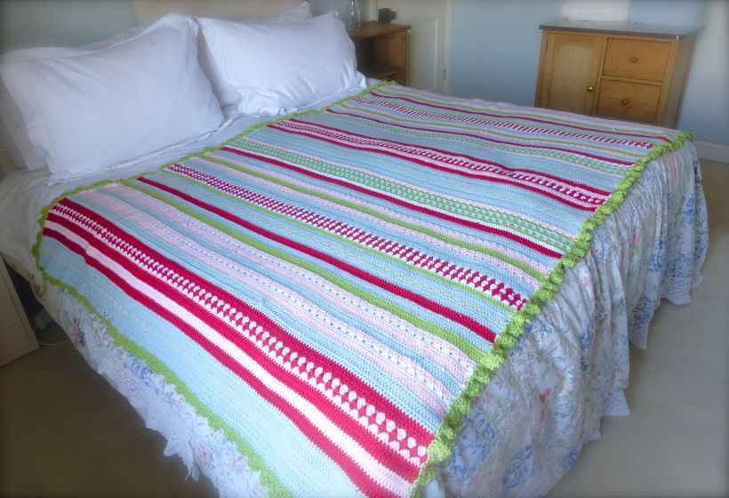 Greengate style crochet blanket3