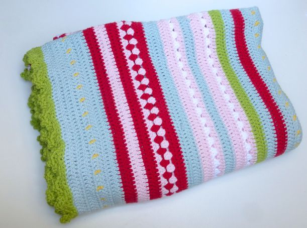 Greengate style crochet blanket5