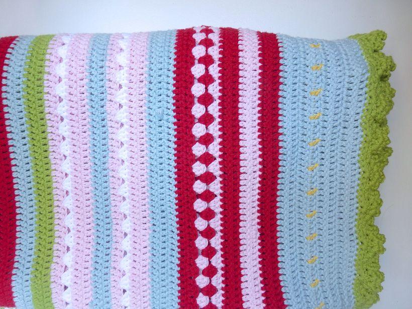 Greengate style crochet blanket7