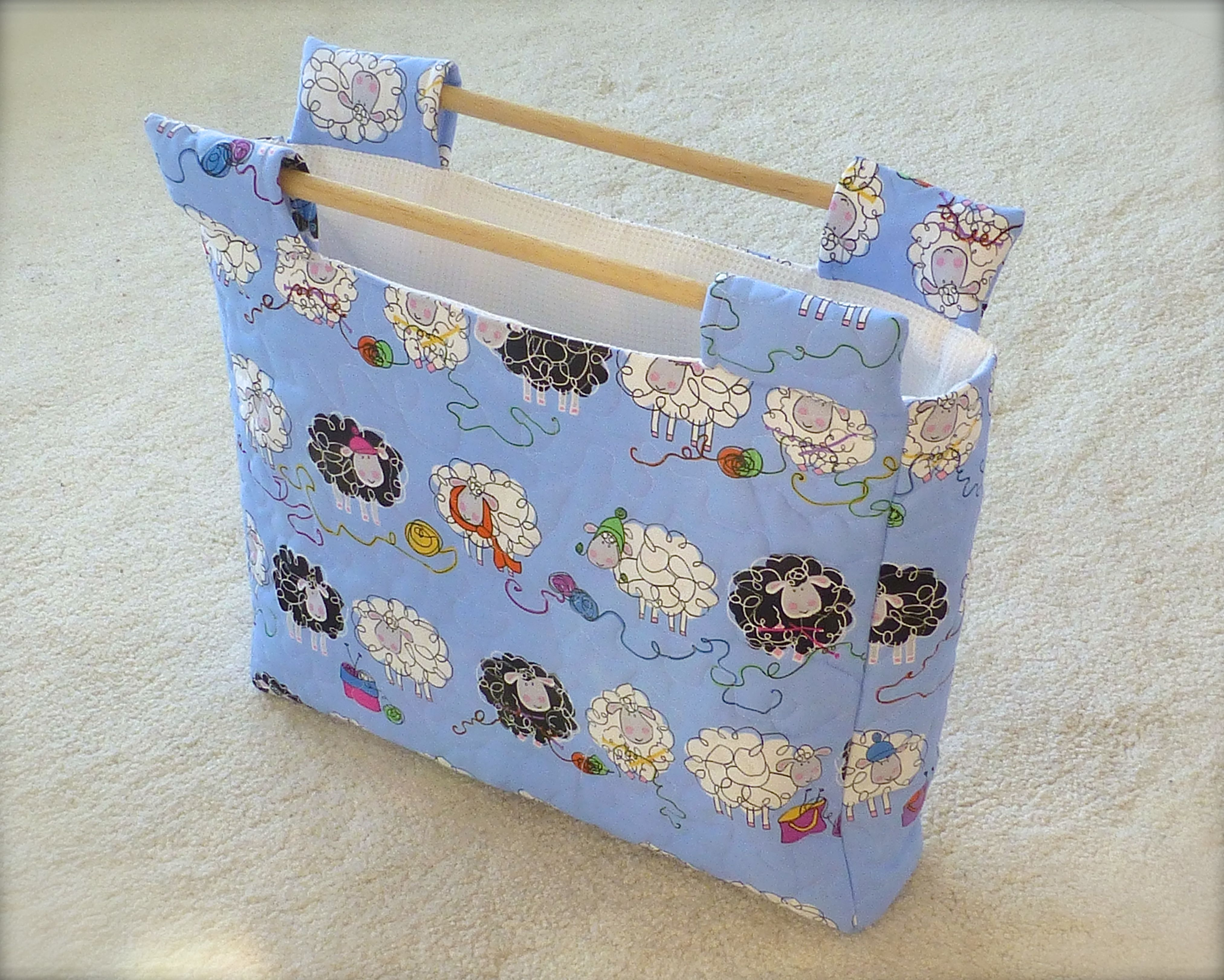 Quilted Knitting Bag Pattern : Another bag perfect for knitting or crochet sewchet