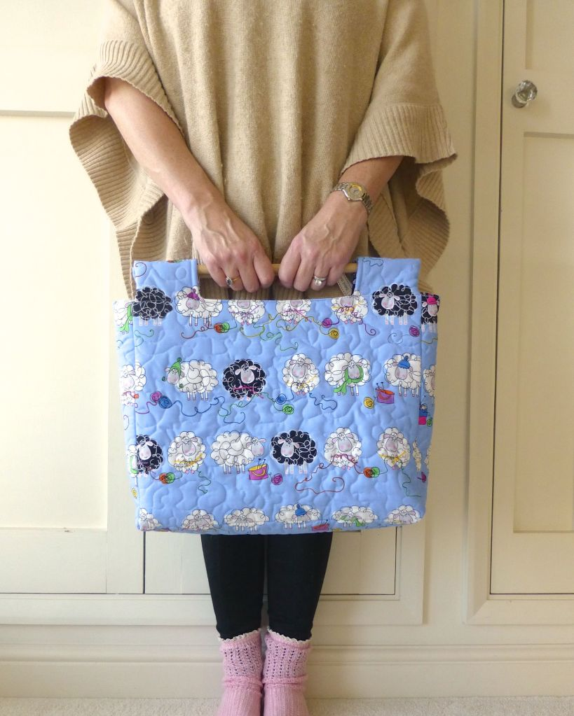 Small knitting bag