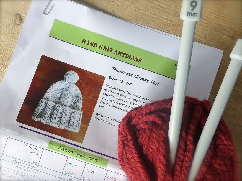 knit for winter pattern