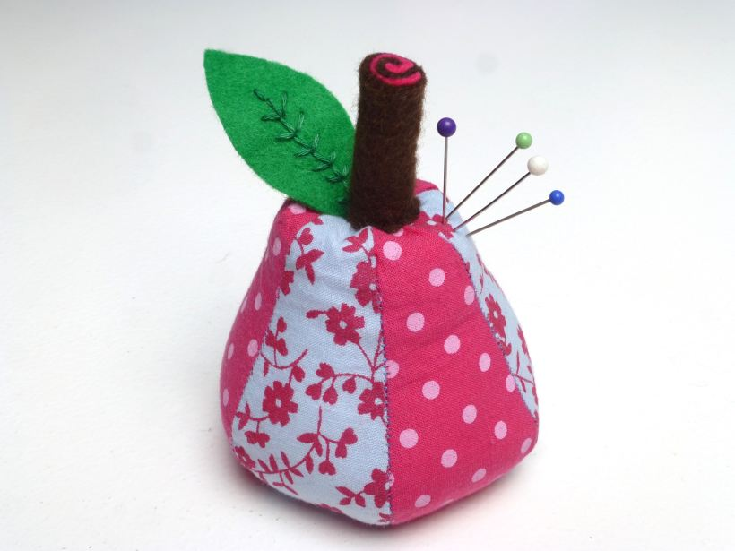 pear pin cushion