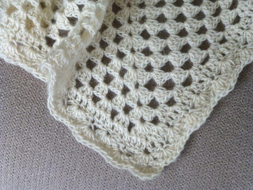 alpaca lace crochet baby blanket