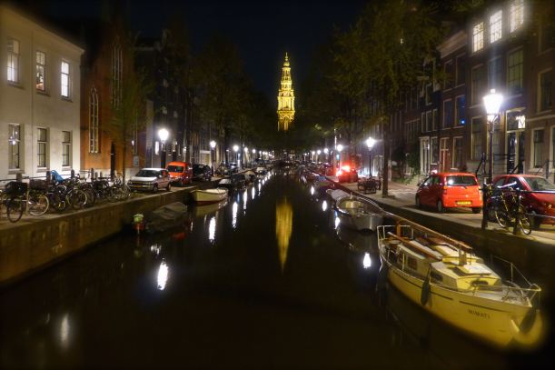 canal by night