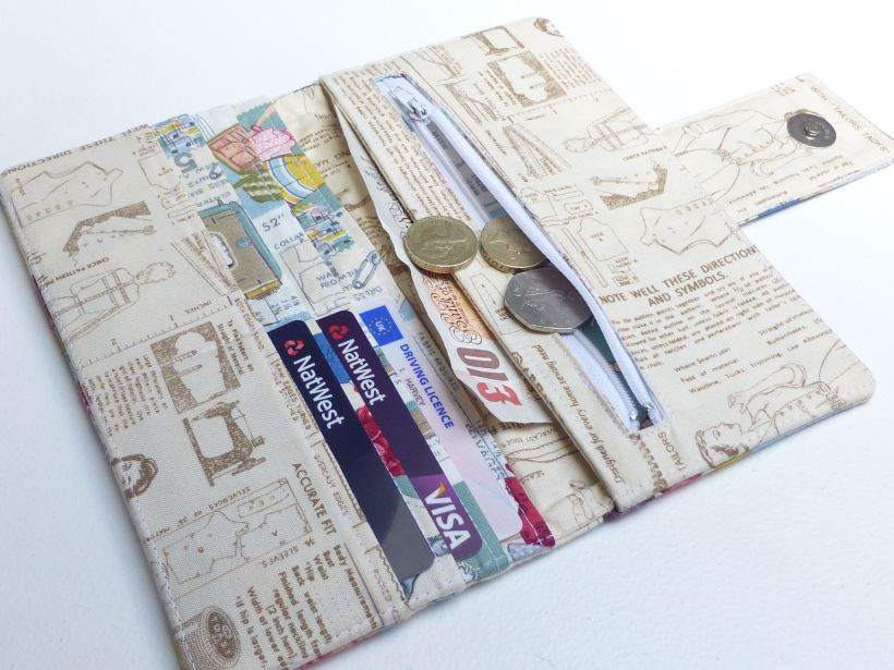 handmade purse wallet