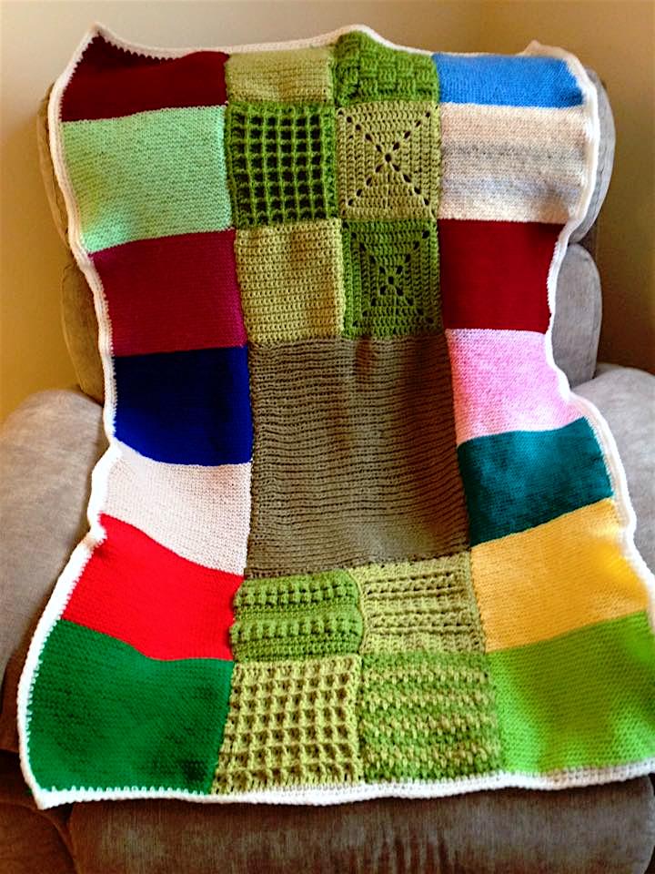 crochet blanke3t