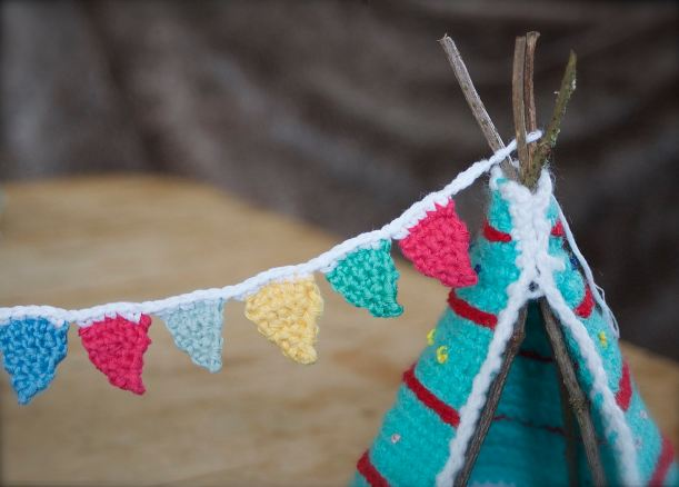 lets go camping kate bruning bunting