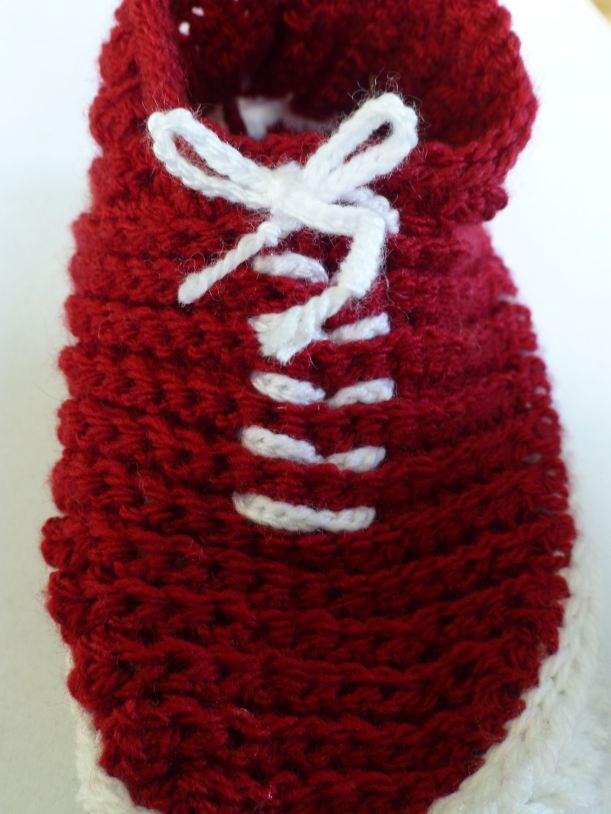 Vans style crocheted slippers9