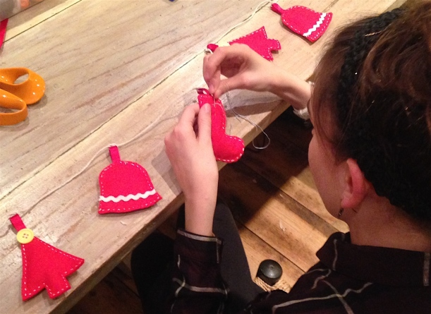 Christmas Bunting Workshop