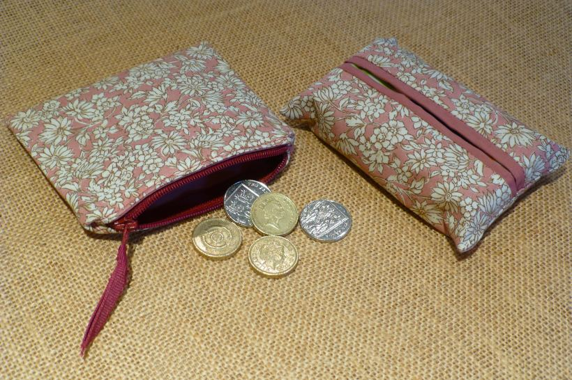 Coin Purse tissue holder