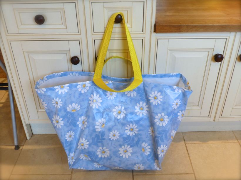 Flowery Ikea Bag