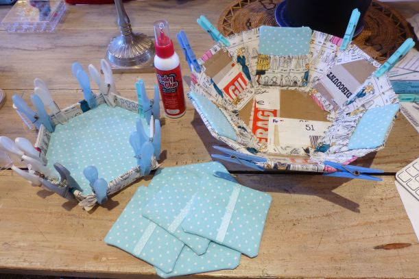 Tialys hexagonal sewing box