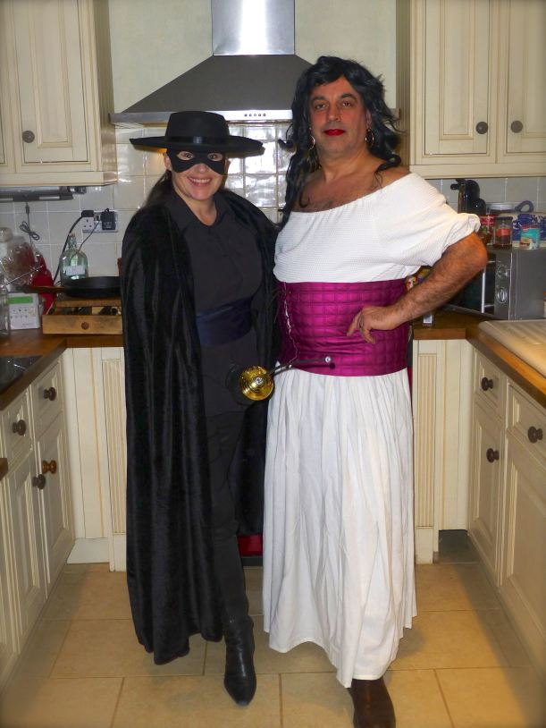 Zorro fancy dress