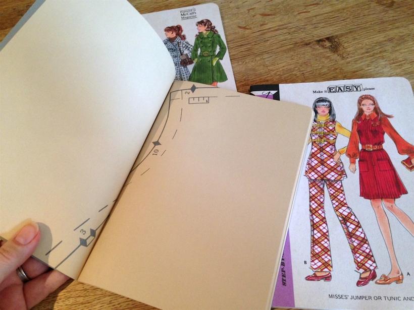 pattern books inside