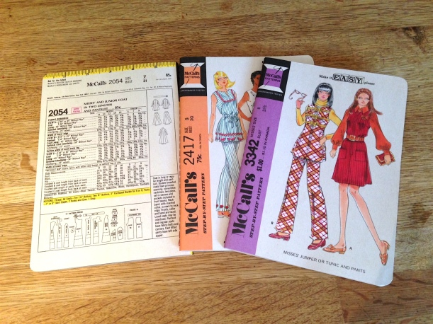 sewing pattern notebooks