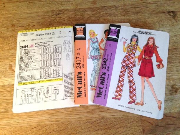 sewing pattern notebooks