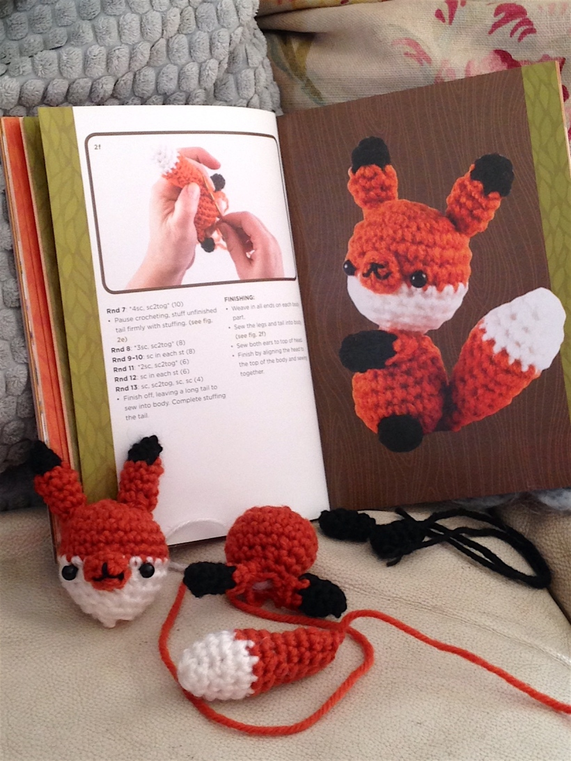 woodland animals crochet book
