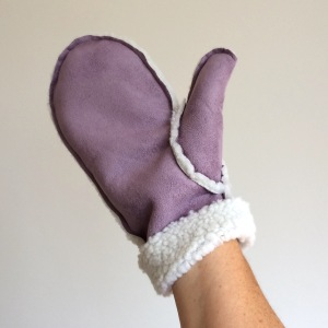How To Make Faux Sheepskin Mittens