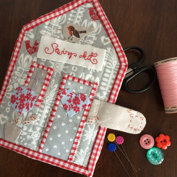 handmade sewing kit needlecase