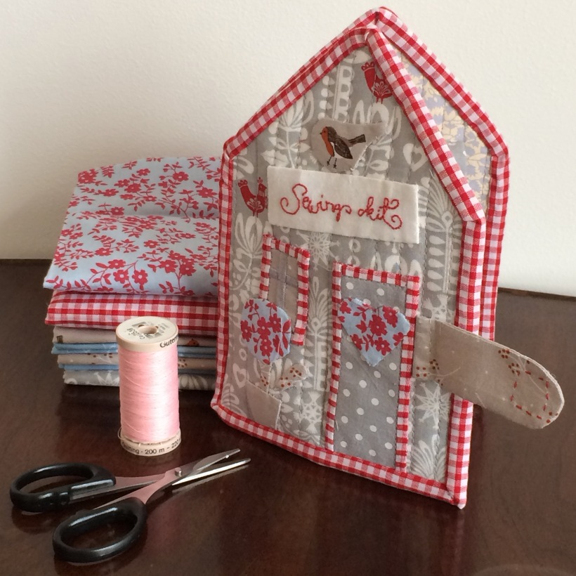 Tilda's Sewing Kit handmade needlecase