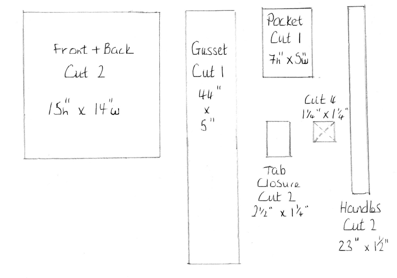 Sheepskin Tote Pattern